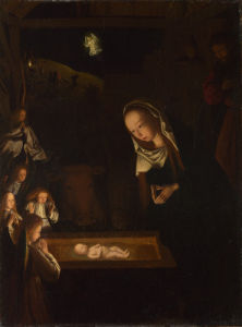 The Nativity at Night by Geertgen tot Sint Jans