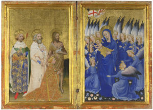 The Wilton Diptych by Unknown English or French