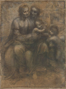 The Leonardo Cartoon by Leonardo da Vinci
