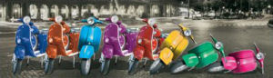 Vespas - Rome by Anonymous