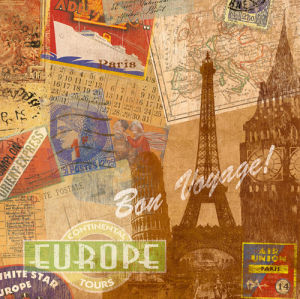 Destination, Europe (small) by Tom Frazier