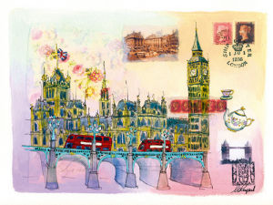 Londres Mon Amour by Martine Rupert