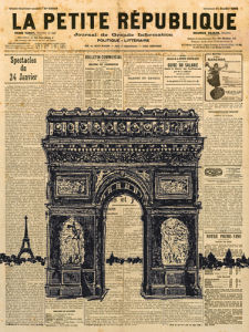 Paris Journal II by Maria Mendez