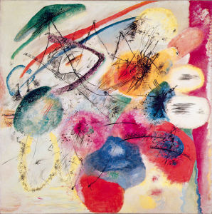 Black Lines, 1913 by Wassily Kandinsky