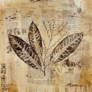 Botanical Sketchbook I by Carney