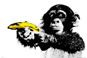 Monkey - Banana by Anonymous