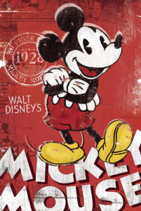 Mickey Mouse - Red by Disney