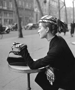 Capucine Café de la Paix by Georges Dambier