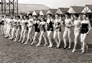 Holiday camp beauty contest, 1954 by Mirrorpix