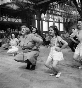 Butlins holiday camp 1947 by Mirrorpix