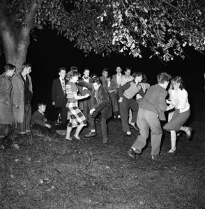 Bop dancers, Haxham 1952 by Mirrorpix
