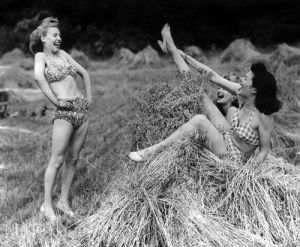 Swimwear models, 1946 by Mirrorpix