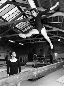 Gymnastics, 1968 by Mirrorpix