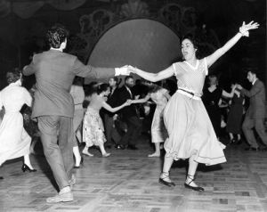 Jiving at Nottingham Palais, 1950 by Mirrorpix