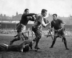 Rugby League international match, 1953 by Mirrorpix