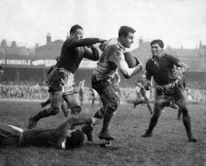 Rugby League international match, 1953 by Mirrorpix