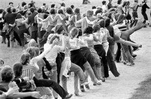 Conga record, Oxford 1978 by Mirrorpix