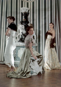French fashion models 1950 by Mirrorpix