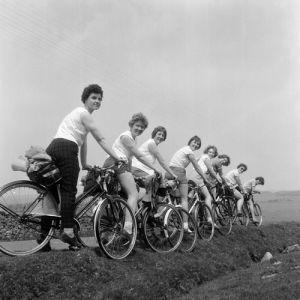 Cycling around Devon, 1961 by Mirrorpix
