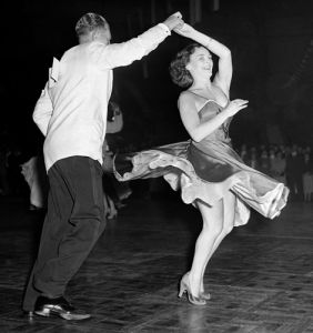 Couple jiving, Haringey 1956 by Mirrorpix