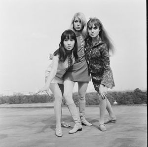 The Mini Mob actresses, 1967 by Mirrorpix