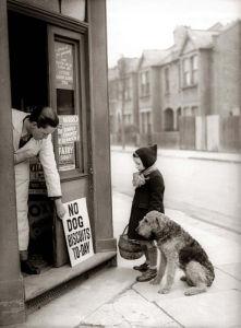 Corner shop, 1942 by Mirrorpix