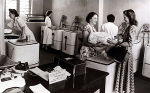 Laundry, Tolworth 1949 by Mirrorpix