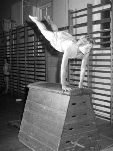 BAI gymnastics, 1958 by Mirrorpix