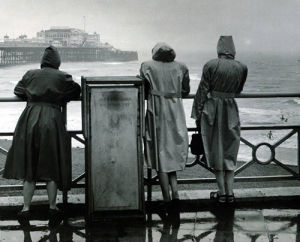 Brighton in the rain, 1949 by Mirrorpix