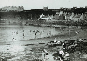 Portpatrick beach, 1930s by Mirrorpix