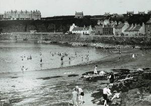 Portpatrick beach, 1930s by Mirrorpix
