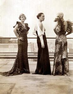 Fashion models, 1933 by Mirrorpix