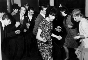 Dancing the Twist, Glasgow 1960s by Mirrorpix