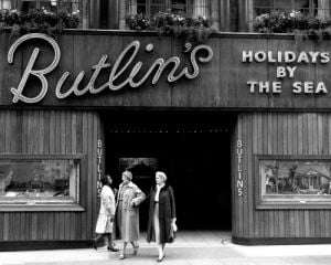 Butlins Holidays, 1961 by Mirrorpix
