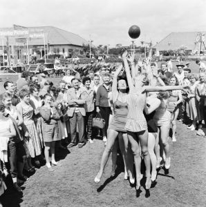 Butlins holiday camp. Pwllheli 1958 by Mirrorpix