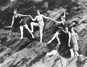 Swimwear fashions, 1911 by Mirrorpix