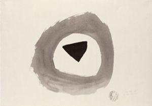 1948 E, 1948 by Julius Bissier