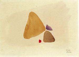 23.10.49, 1949 by Julius Bissier