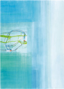 Untitled, 2003 (blue) by Susanne Stahli