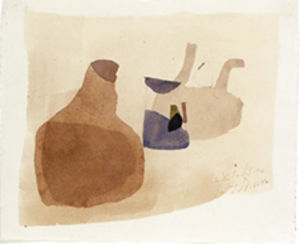 28.I.65 qu, 1965 by Julius Bissier