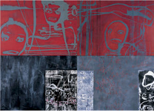 Pas d'orchidees, 2004 by Franca Ravet