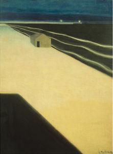 La digue, 1909 by Léon Spilliaert
