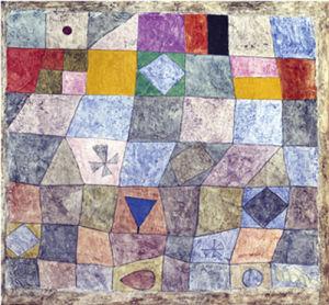 Freundliches Spiel by Paul Klee