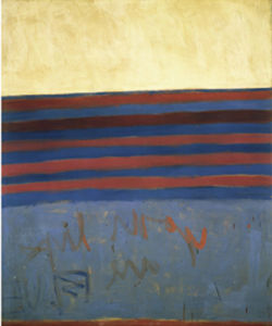 Your Lips are Blue, 1958 by Frank Stella