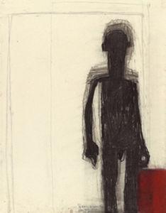 L'homme a la valise by Petrus De Man