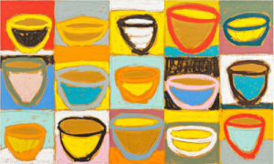 Colour Bowls 2009 by Gordon Hopkins