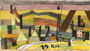 Station L 112, 14 Km by Paul Klee