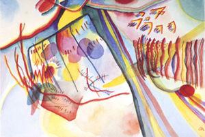 Komposition, 1911 by Wassily Kandinsky
