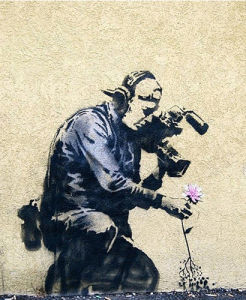 Photographer Flower by Street Art