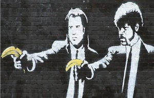 Pulp Fiction by Street Art